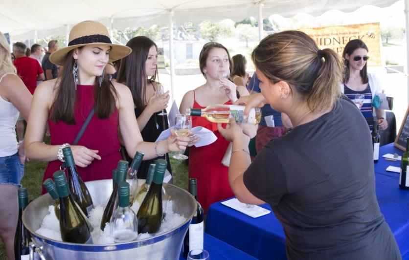 Coastal Wine Trail Wine Cheese Chocolate Festival 2018 Wine Tasting Food Sampling