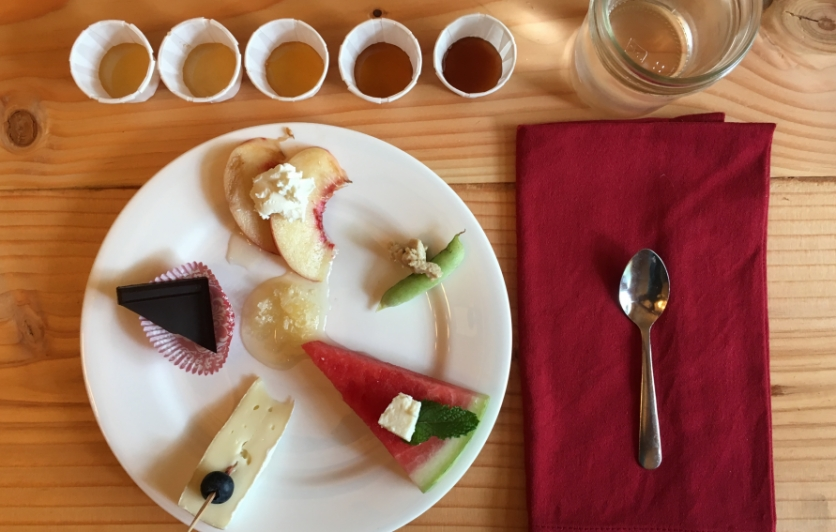 Honey and Food Pairing Plate