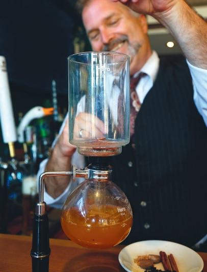 Cider from Steinbock Tavern at The Alpenhaus Restaurant in Milford