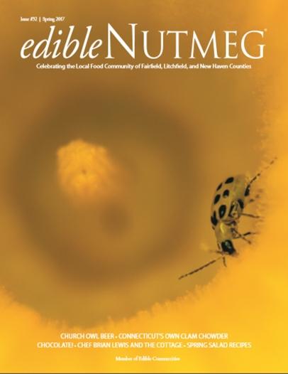 Edible Nutmeg spring 2017 cover