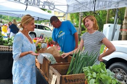Lesley King discusses Back 40 Farm's produce