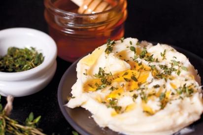Thyme-honey butter