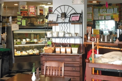 Fresh, delicious, and organic meals inside Claires Corner Copia