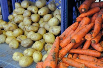 potatos and carrots