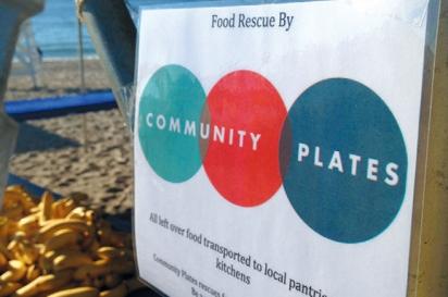 Community plates banner