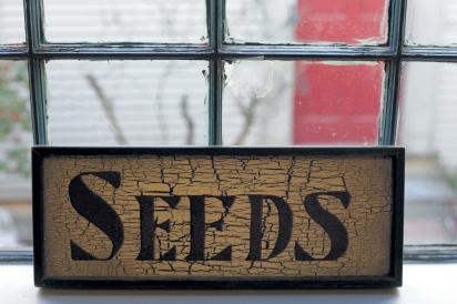 seeds signage