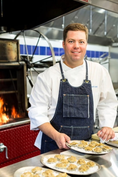 Mill Street Bar & Table's Executive Chef Geoff Lazlo.