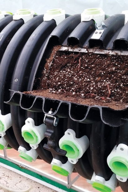 arise cylinder for growing plants