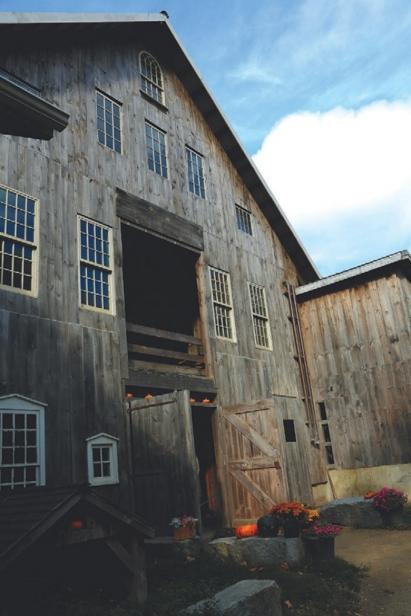 Thorncrest dairy barn