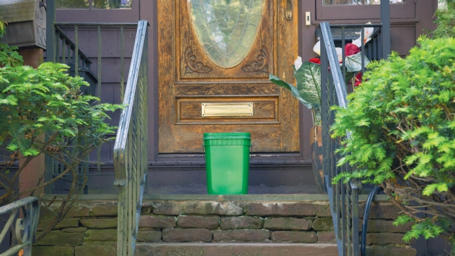 Compost on the doorstep