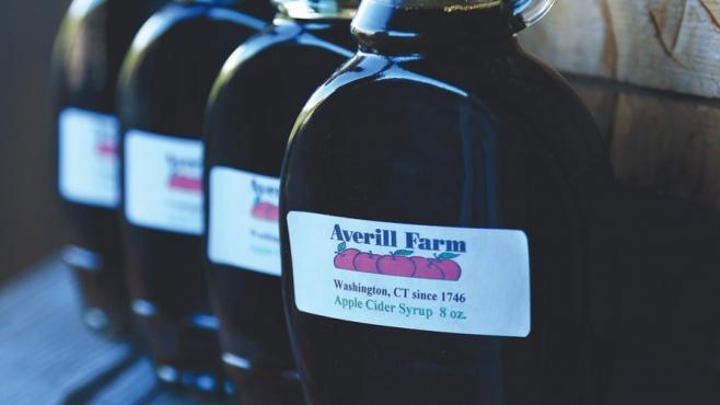 boiled cider at Averill farm