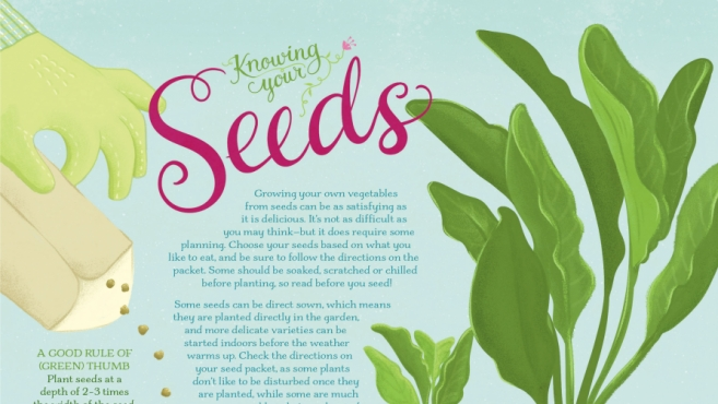 knowing your seeds edible ink