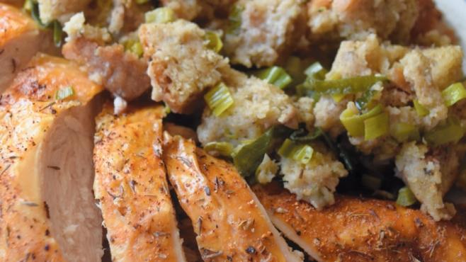 Leek and Sage Stuffing Recipe