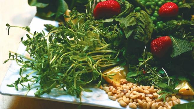 spring's bounty salad