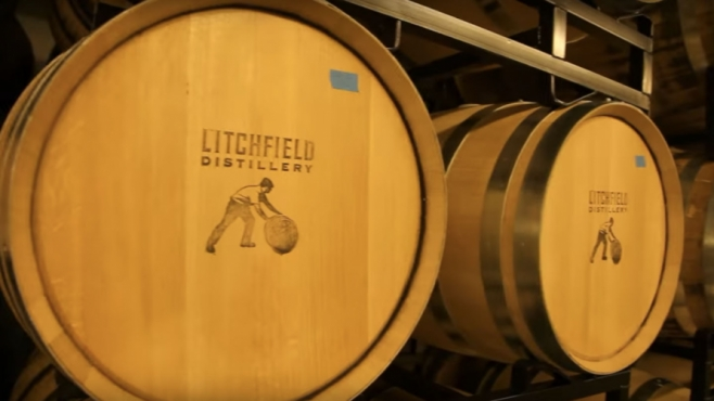 litchfield distillery barrels